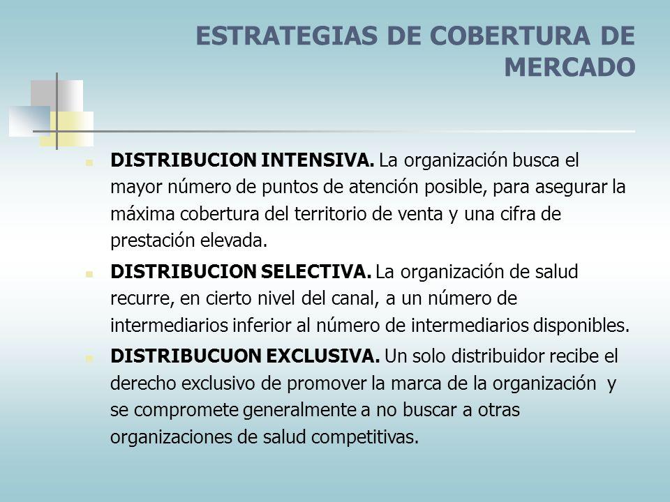 FACTORES QUE AFECTAN LA SELECCIÓN DE LOS CANALES Consideraciones de los clientes Consideraciones del servicio Consideraciones de los intermediarios Co