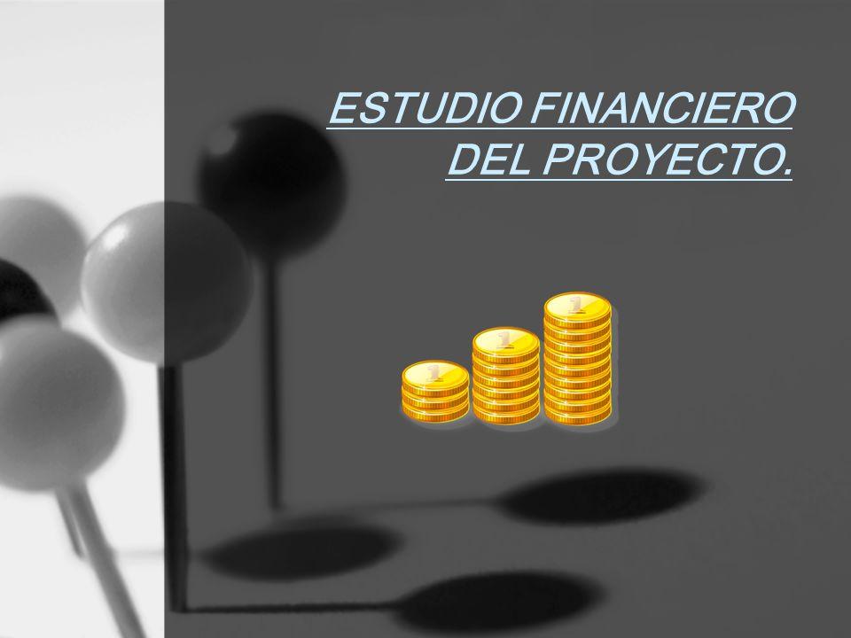 ESTUDIO FINANCIERO DEL PROYECTO.
