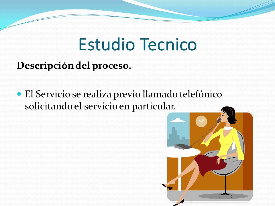 Estudio Tecnico Descripción del proceso.