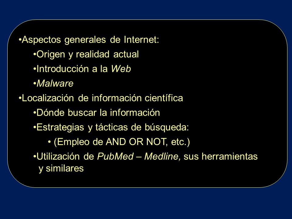 Componentes de la pantalla de un Browser Barra de menúes Barra de íconos Ventana de direcciones: para escribir o copiar el URL Ventana del sitio Barra de estado