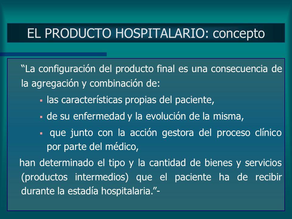 14/04/20064 Exponer las ideas principales que se tratarán PROCESO DE INTERNACION Se consideraron los consumos producidos durante el proceso de interna