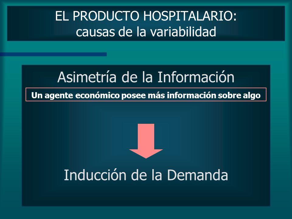 EL PRODUCTO HOSPITALARIO: concepto La configuración del producto final es una consecuencia de la agregación y combinación de: las características prop