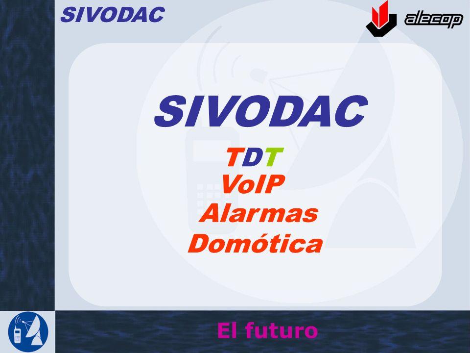 SIVODAC TDTTDT El futuro VoIP Alarmas Domótica