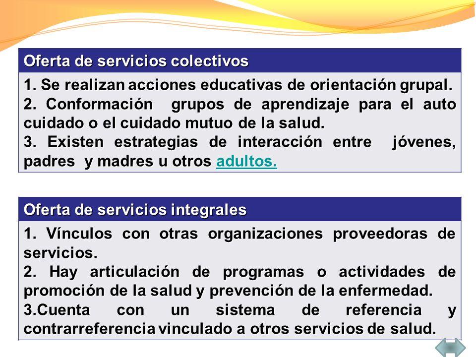 Organización de servicios de extensión 1.Se otorga gran importancia a los servicios extramurales.