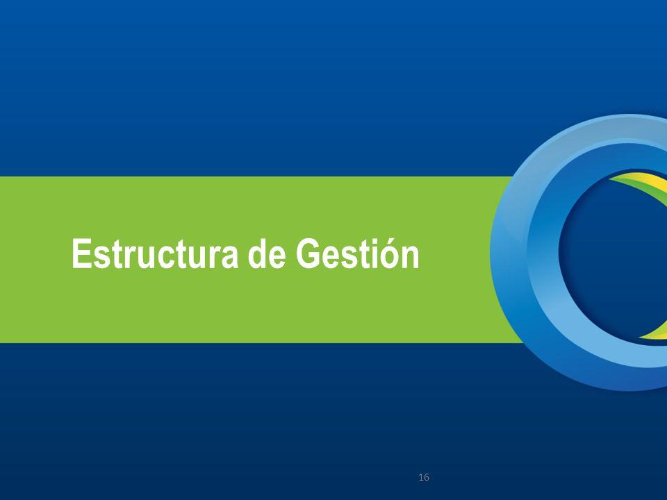Estructura de Gestión 16