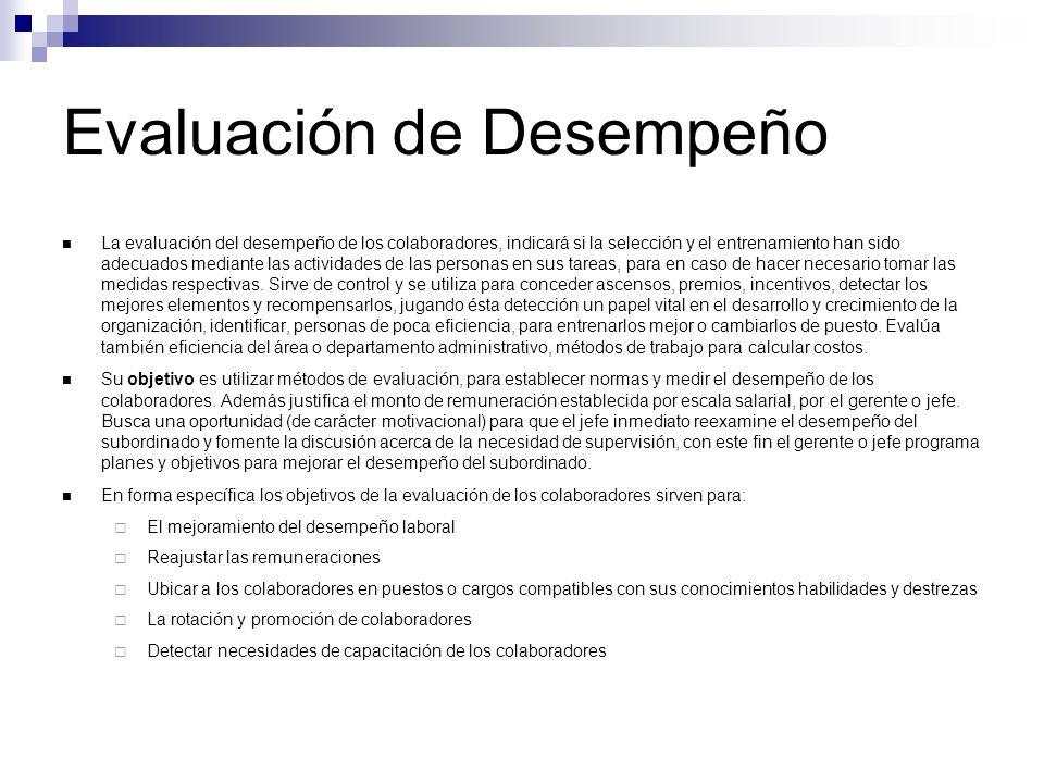 Evaluación de Desempeño (FACTORES DE LA EVALUACION DE COLABORADORES) Cantidad de Trabajo.