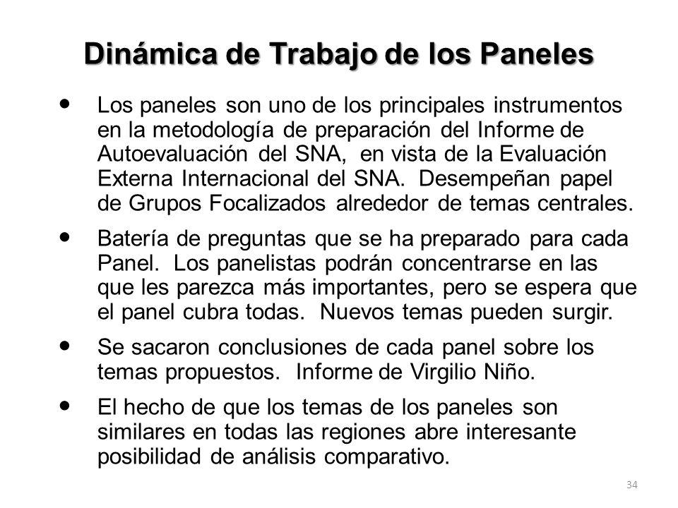 33 1.Dos conferencias: 14 Años de CNA: Evolución de la Acreditación en Colombia (1998-2009). Rendimientos de cuentas. Acreditación en un contexto mund