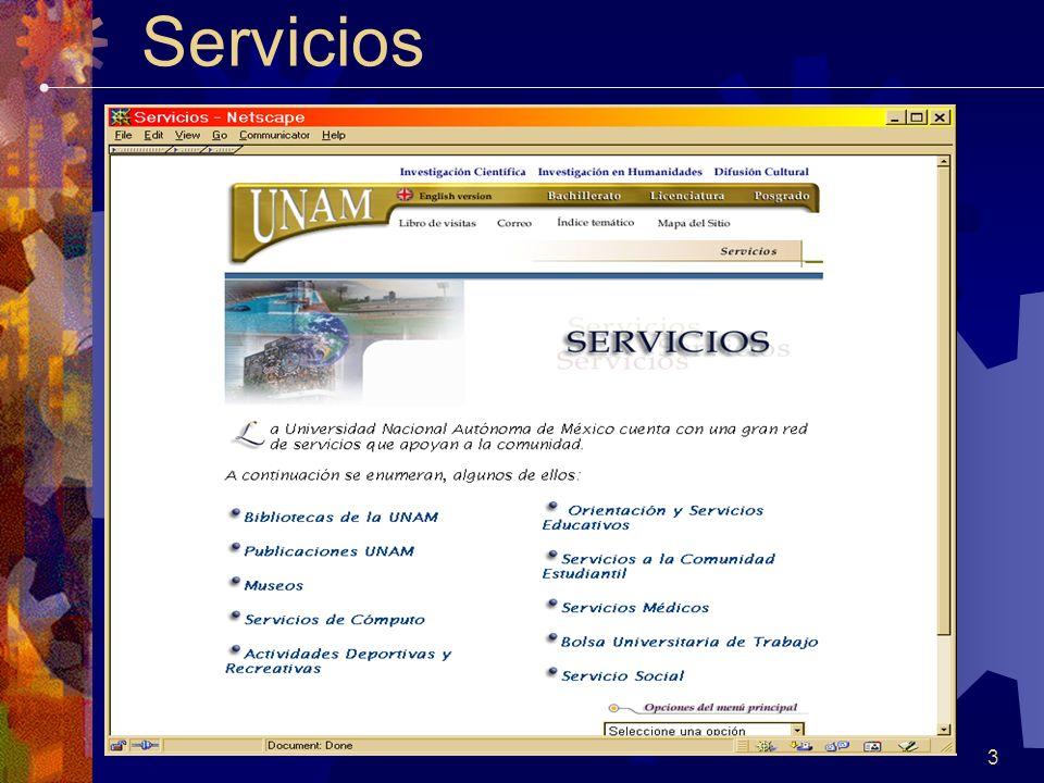 3 Servicios