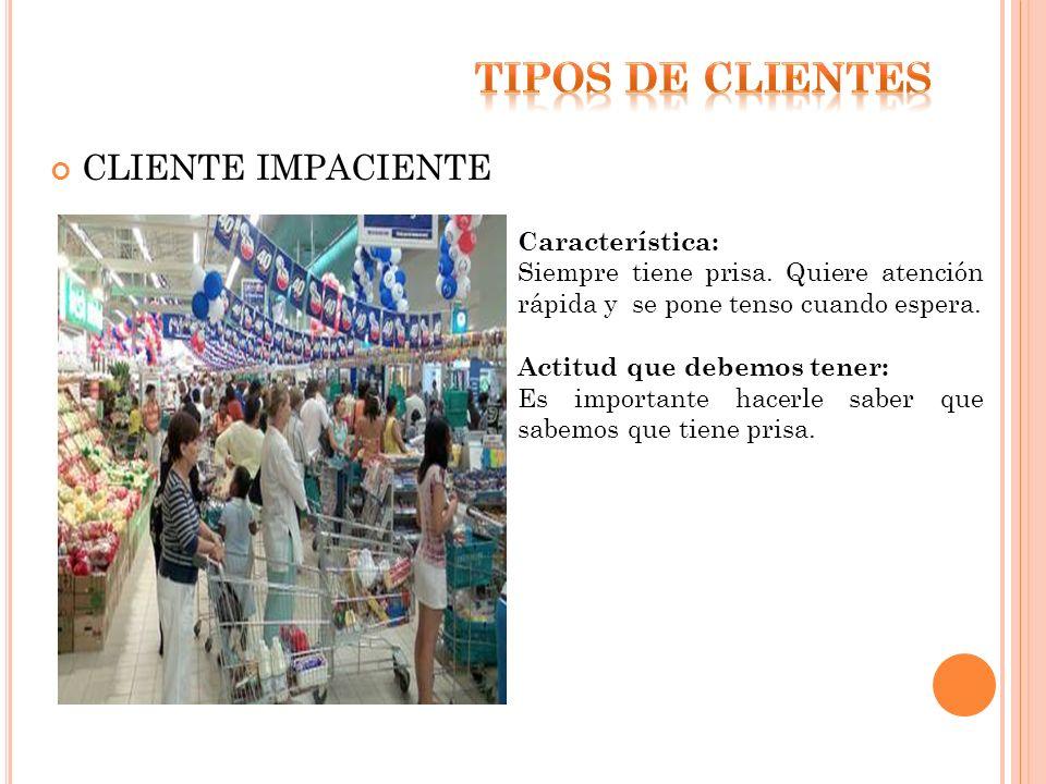 Características/Requisitos básicos : son características del producto que el cliente considera obligatorias.