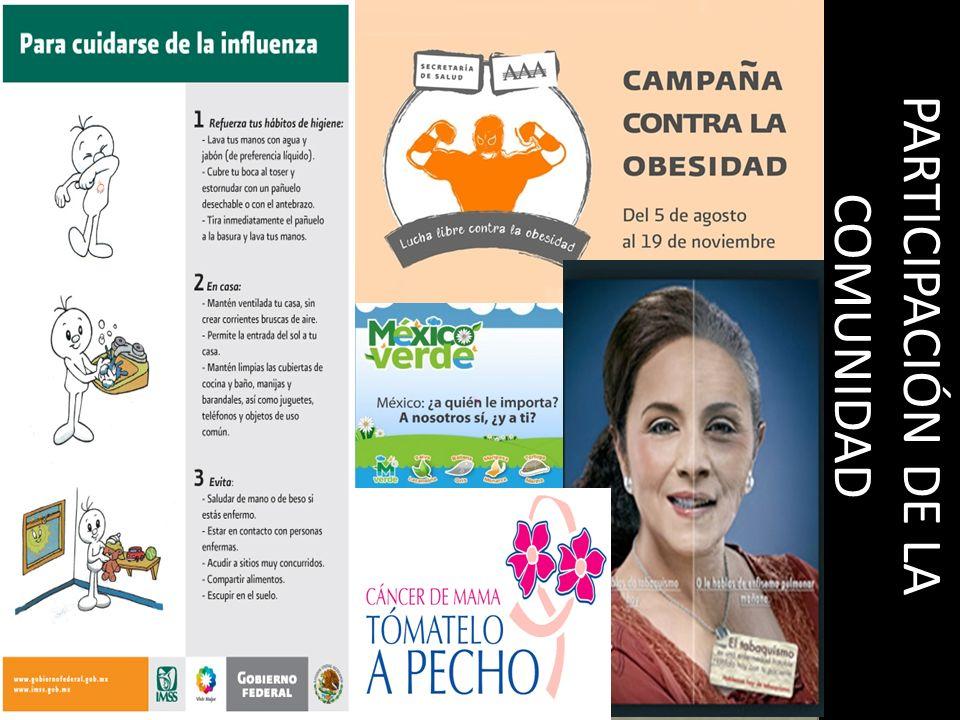 PARTICIPACIÓN DE LA COMUNIDAD