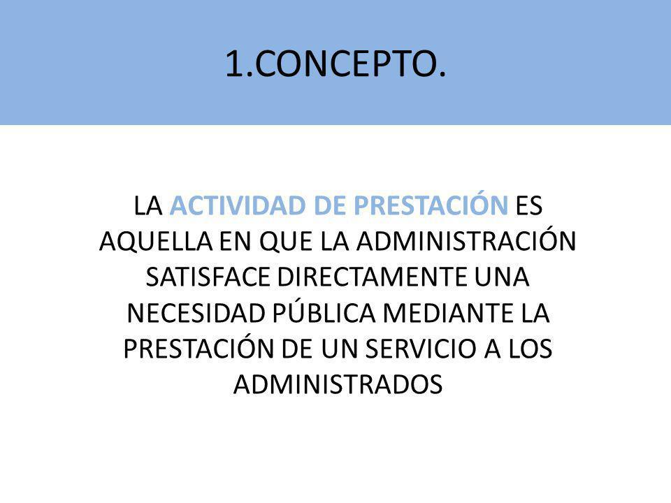4.FORMAS DE GESTIÓN (III) SE REALIZA MEDIANTE CONTRATOGESTIÓN INDIRECTA MODALIDADES (Art.