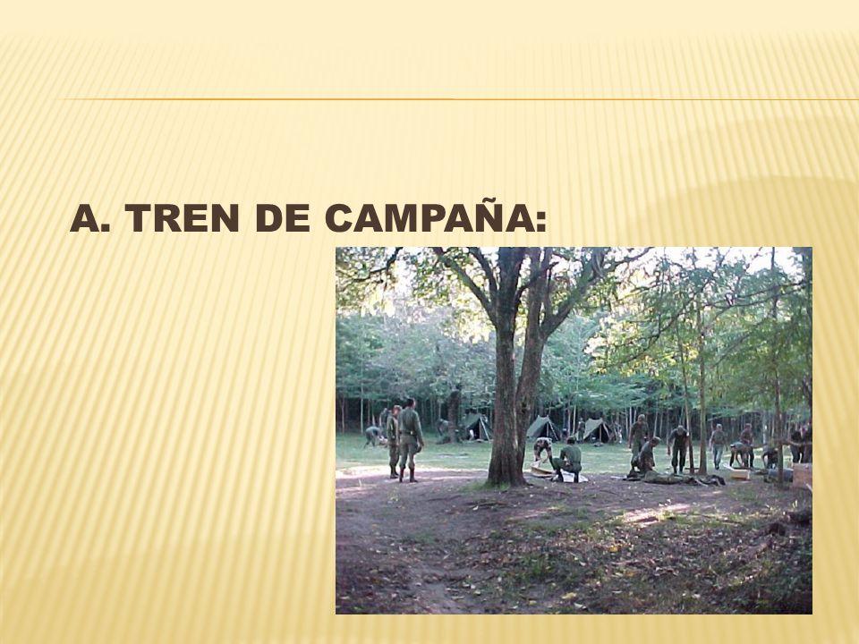 A. TREN DE CAMPAÑA: