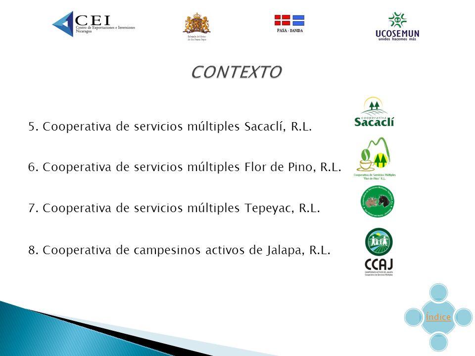 5.Cooperativa de servicios múltiples Sacaclí, R.L.