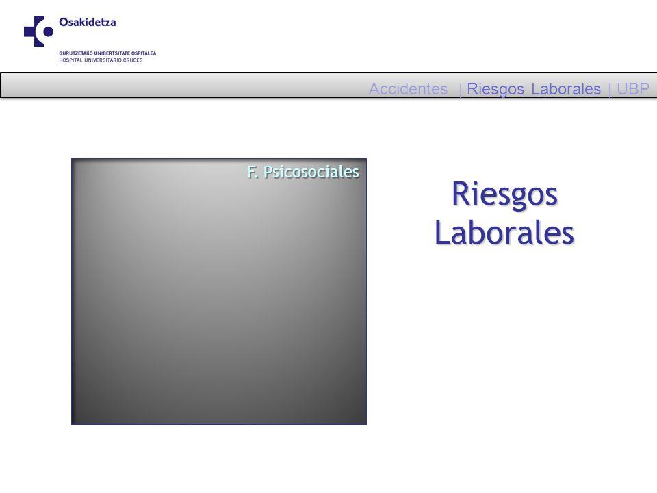 Riesgos Laborales Accidentes | Riesgos Laborales | UBP F. Psicosociales