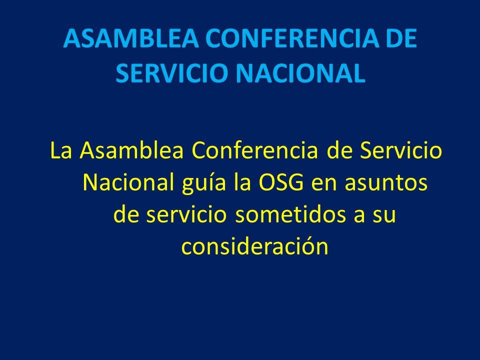 Undecimo Concepto La oficina de servicio mundial, está compuesta de comités selectos, ejecutivos y miembros del personal OFICINA DE SERVICIOS GENERALES