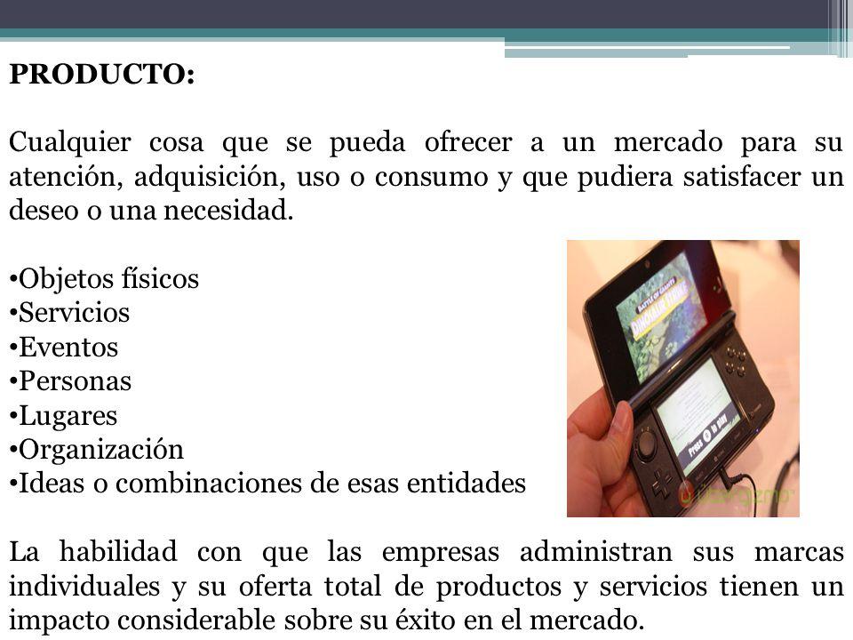 PRODUCTOS DE ESPECIALIDAD Fuerte preferencia y lealtad a las marcas.