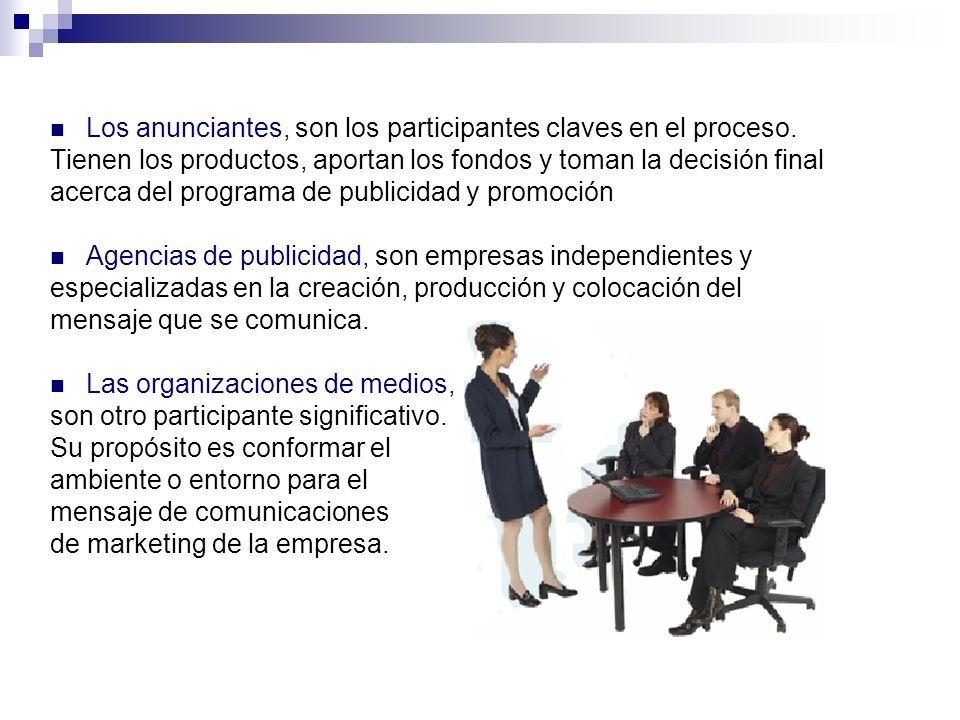 Organizaciones especializadas.Prestan servicios, en su área especifica.