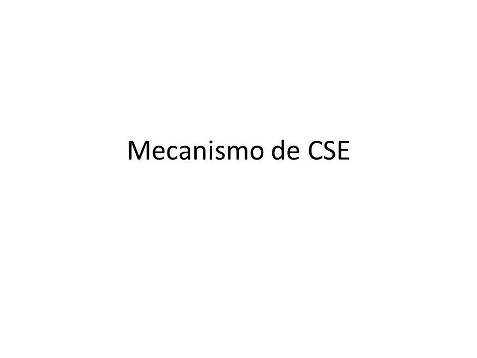 Mecanismo de CSE