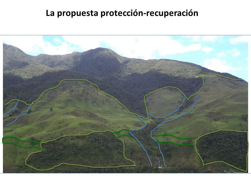 La propuesta protección-recuperación