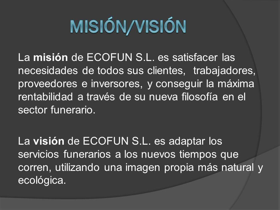 La misión de ECOFUN S.L.