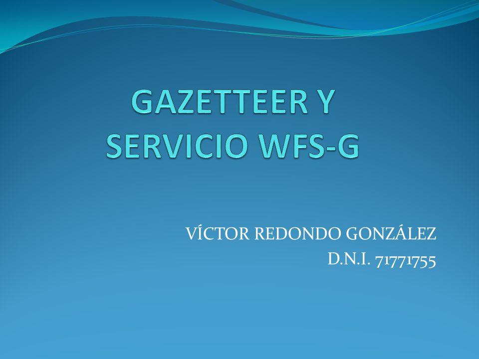 VÍCTOR REDONDO GONZÁLEZ D.N.I. 71771755