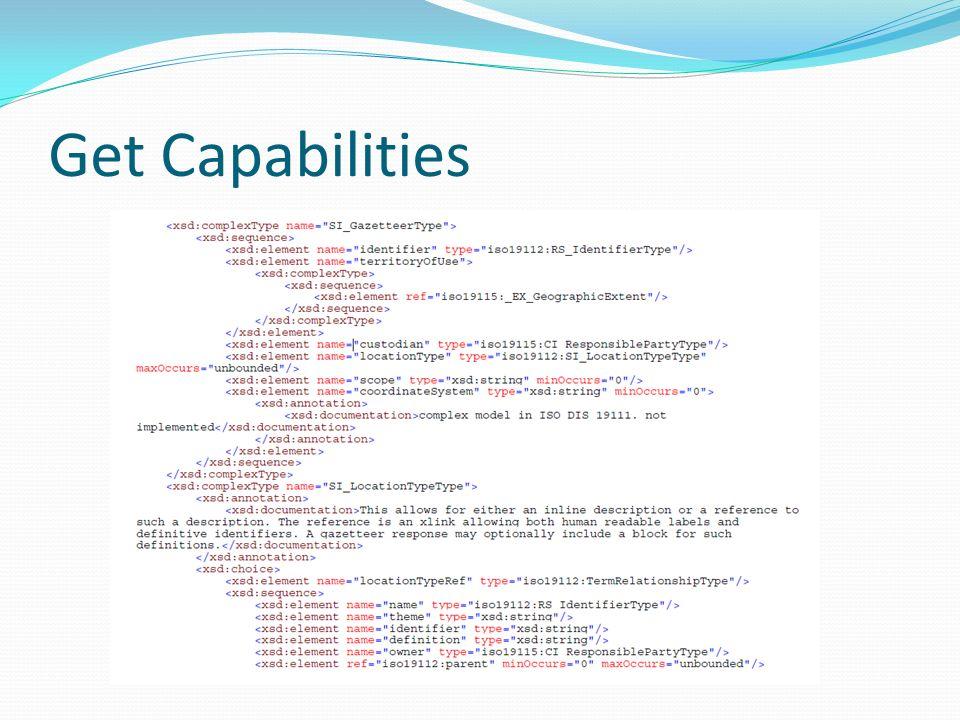 Get Capabilities