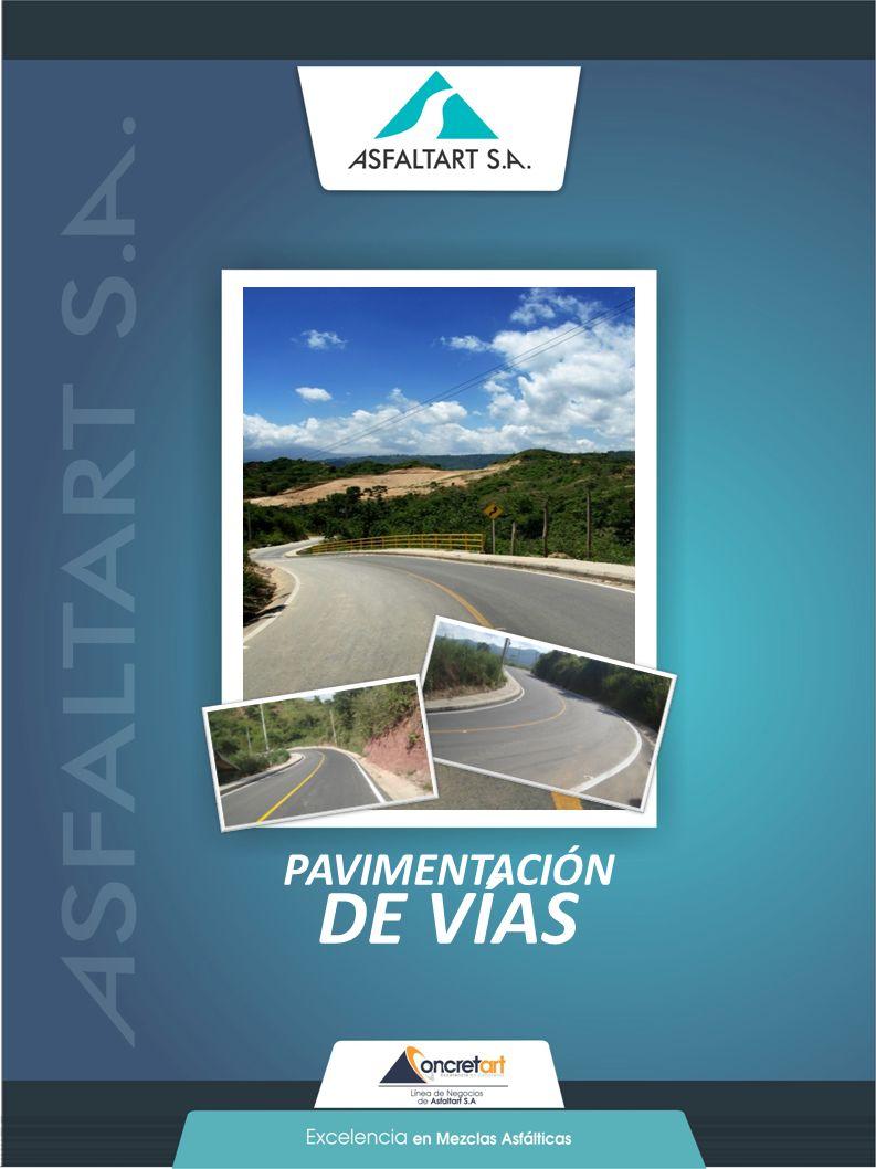 23 www.asfaltart.com PORTAFOLIO DE SERVICIOS PAVIMENTACIÓN DE VÍAS