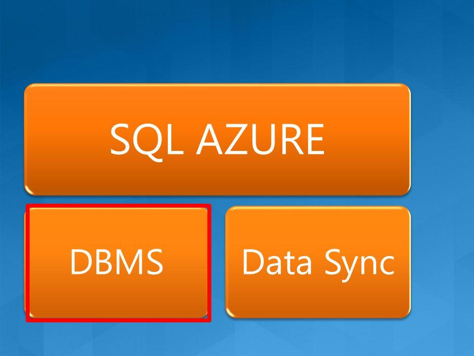 SQL AZURE DBMSData Sync