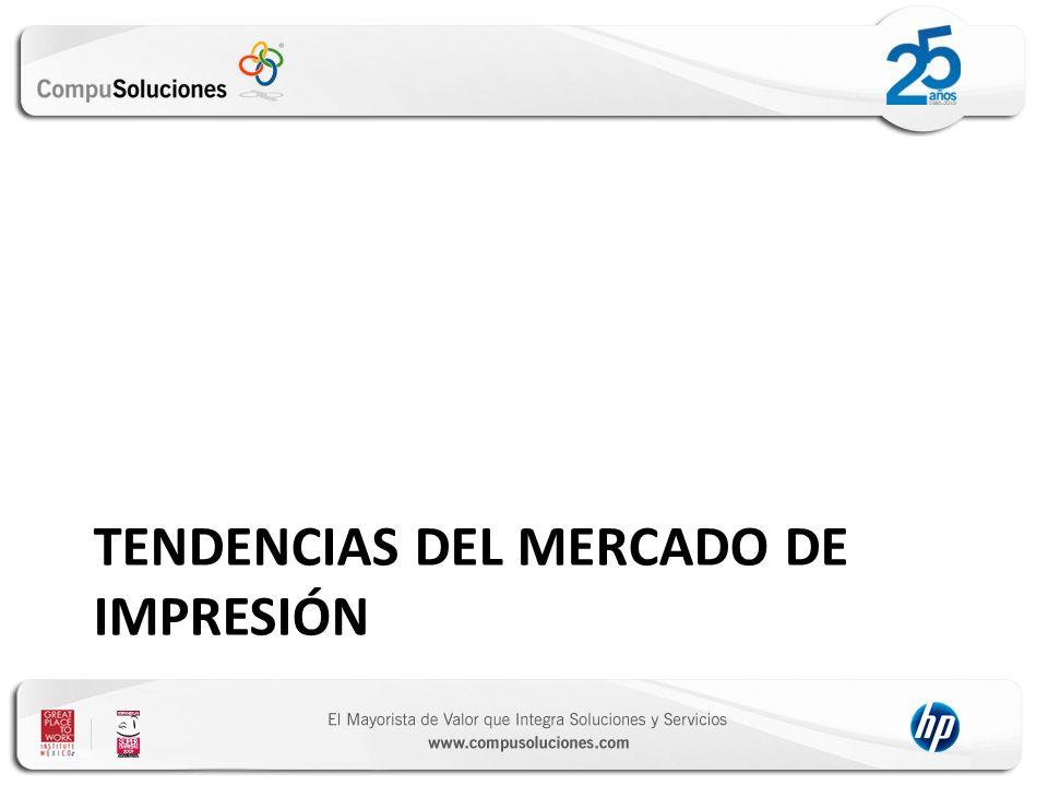 TENDENCIAS DEL MERCADO DE IMPRESIÓN
