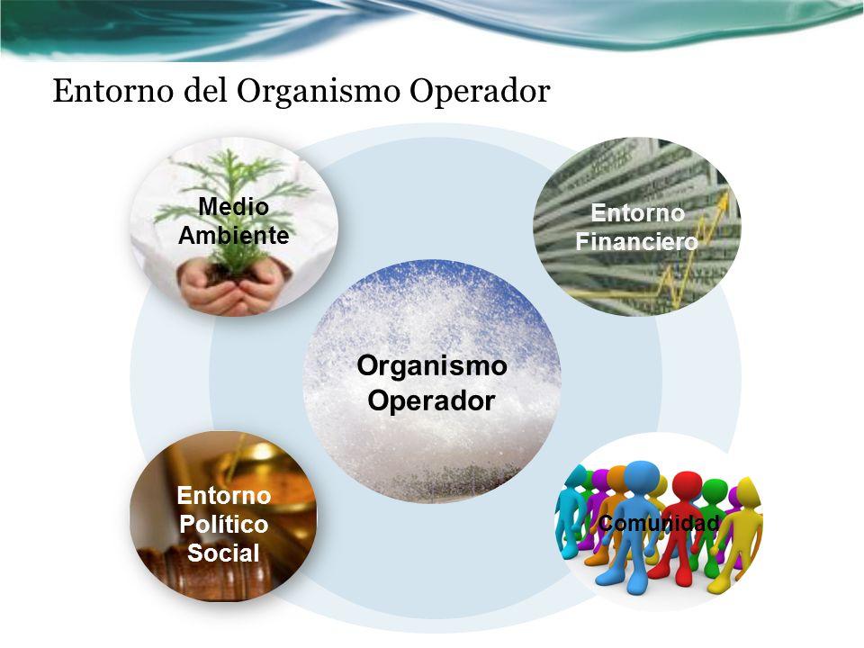 Organismo Operador Medio Ambiente Entorno Financiero Comunidad Entorno Político Social Entorno del Organismo Operador
