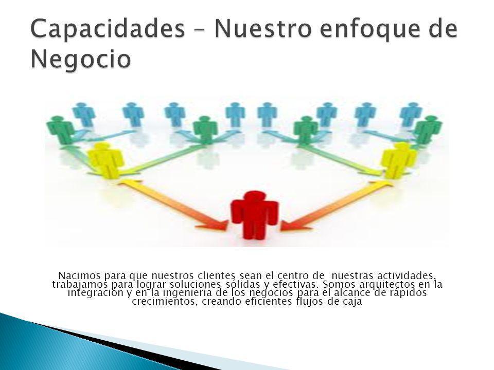 Nacimos para que nuestros clientes sean el centro de nuestras actividades, trabajamos para lograr soluciones sólidas y efectivas.