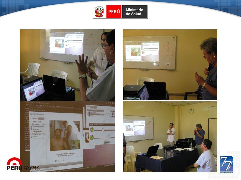 Tele-Estetoscopía – Hosp. Regional Loreto