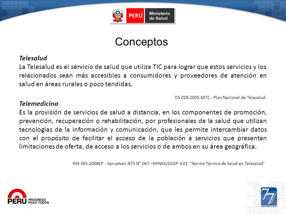 Telesalud La Telesalud es el servicio de salud que utiliza TIC para lograr que estos servicios y los relacionados sean más accesibles a consumidores y