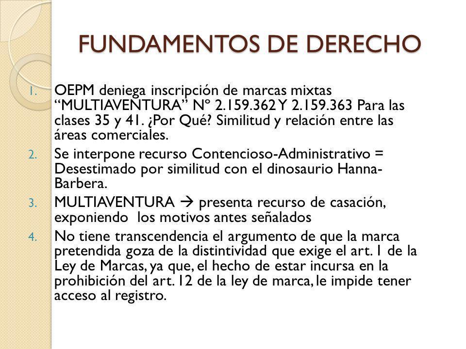 FUNDAMENTOS DE DERECHO 1.