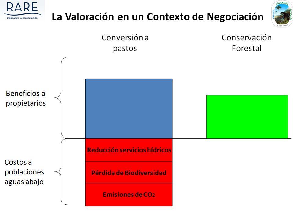 La Valoración en un Contexto de Negociación
