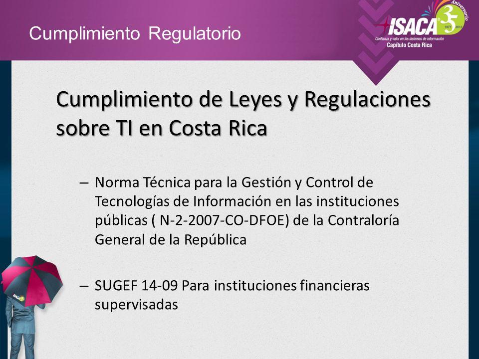 Cumplimiento Regulatorio Normativa 14-09 de la Superintendencia General de Entidades Financieras (SUGEF) – Artículo 1.