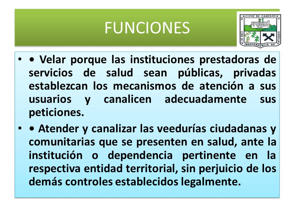 FUNCIONES DEL SAC Controlar la adecuada canalización y resolución de inquietudes y peticiones que realizan los ciudadanos en ejercicio de sus derechos y deberes, ante las empresas promotoras de salud.