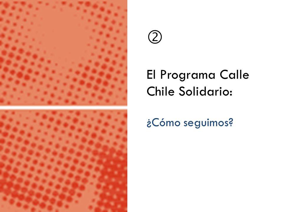 El Programa Calle Chile Solidario: ¿Cómo seguimos?