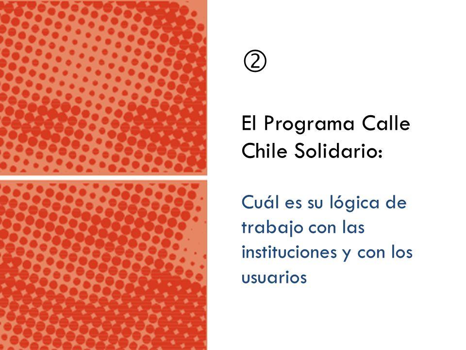 El Programa Calle Chile Solidario: Cuál es su lógica de trabajo con las instituciones y con los usuarios