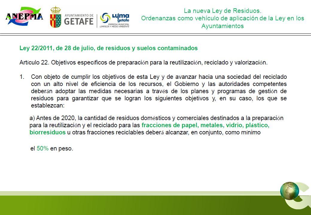 www.jornadasanepma.es GRACIAS La nueva Ley de Residuos.