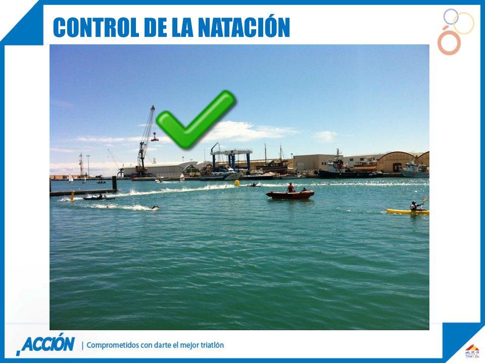 CONTROL DE LA NATACIÓN