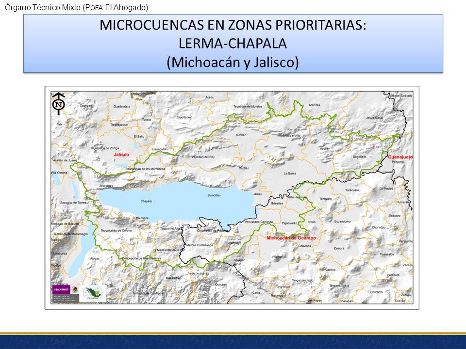 Órgano Técnico Mixto (P OFA El Ahogado) Apoyos CONAFOR Proyectos de compensación ambiental por cambio de uso de suelo en terrenos forestales y asignac