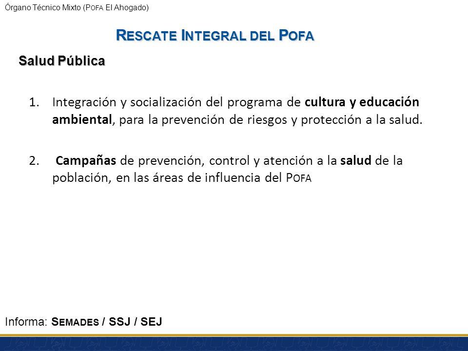 Órgano Técnico Mixto (P OFA El Ahogado) MICROCUENCAS EN ZONAS PRIORITARIAS: LERMA-CHAPALA (Michoacán y Jalisco)