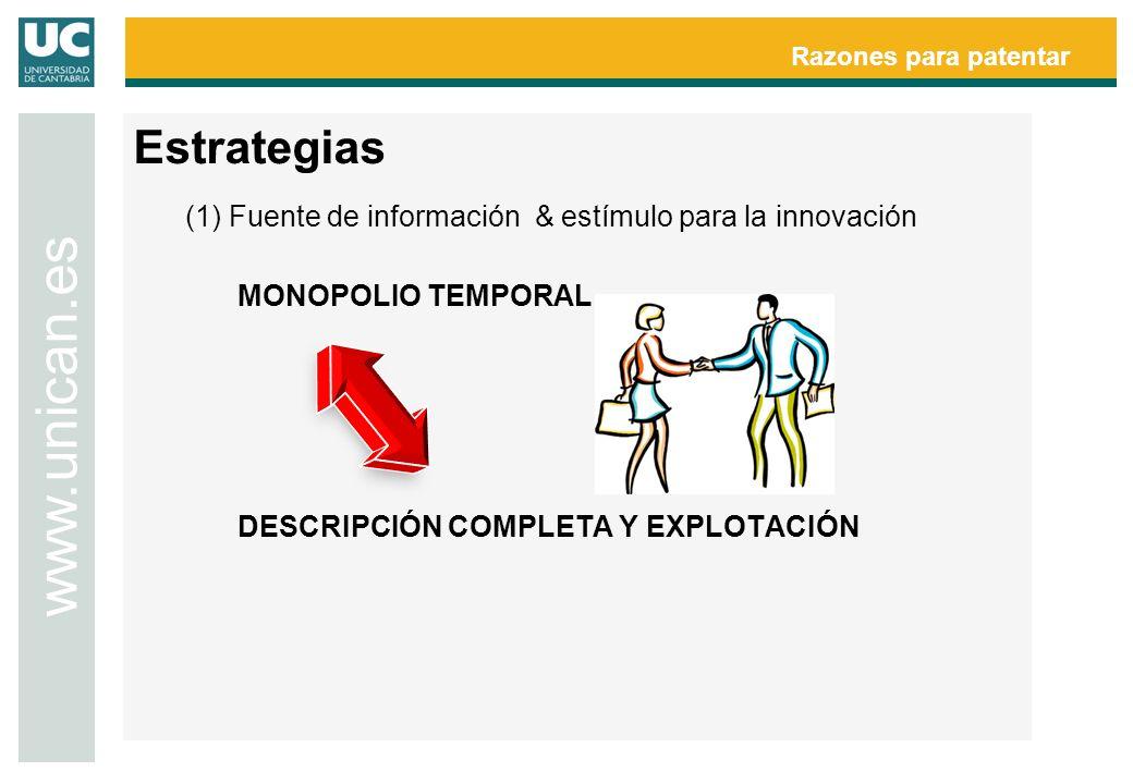 Razones para patentar www.unican.es