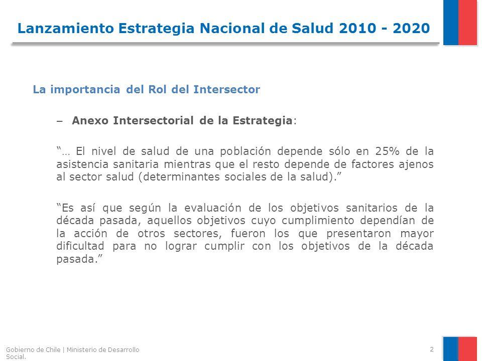 Gobierno de Chile | Ministerio de Desarrollo Social.