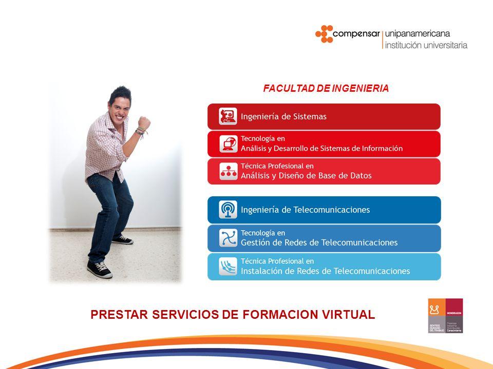 PRESTAR SERVICIOS DE FORMACION VIRTUAL FACULTAD DE CIENCIAS EMPRESARIALES