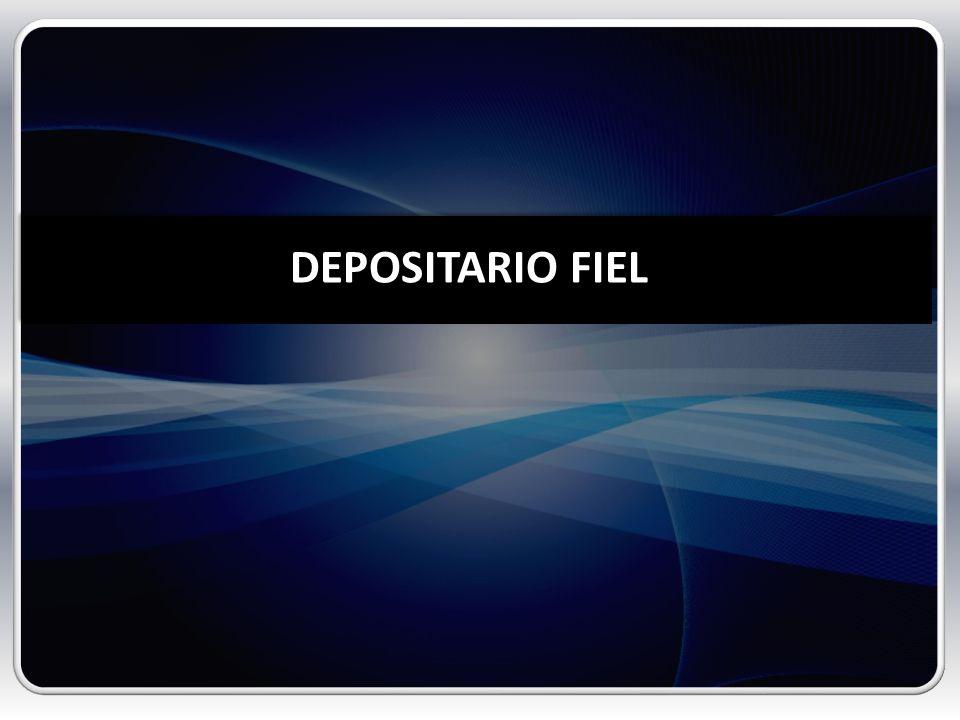 DEPOSITARIO FIEL