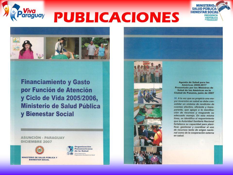 Análisis del Financiamiento y Gasto del sector salud en el Paraguay e Institucionalización del proceso de generación de indicadores económicos de salud.