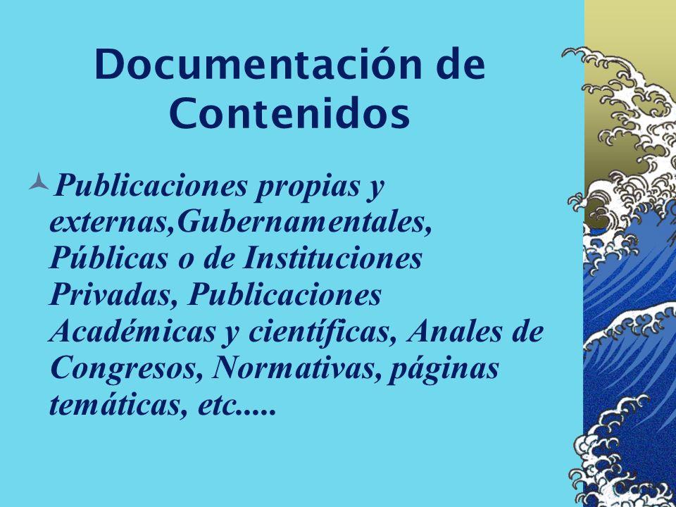 Documentación Referencial Diccionarios Temáticos o Expertos (Gateways), Enciclopedias, Atlas, Biografías, Catalogos Colectivos (OPAC), Directorios etc