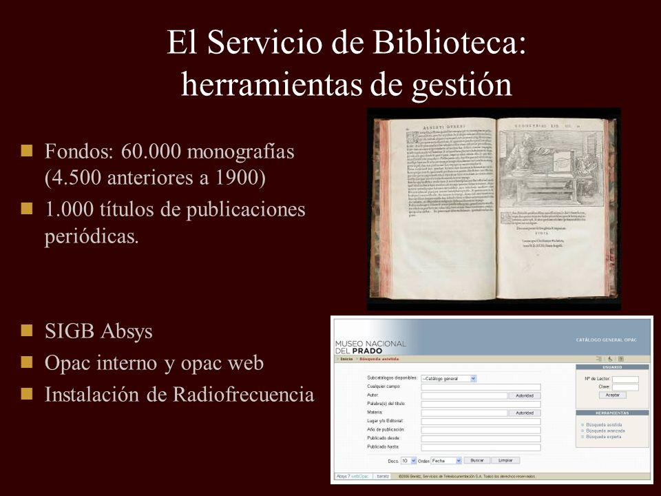 Servicio de Documentación Tipos de documentación tratada: Documentación histórica (documentos de Archivo).
